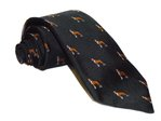 Hand-Made Woven Silk Tie (Dog)