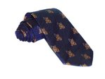 Hand-Made Woven Silk Tie (Tiger)