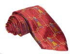 Hand-Made Woven Silk Tie (Golf)