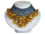 Amber Choker Necklace Design