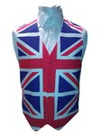 Union Jack Single Breasted Cotton Waistcoat